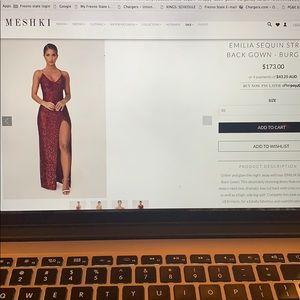 Meshki gown